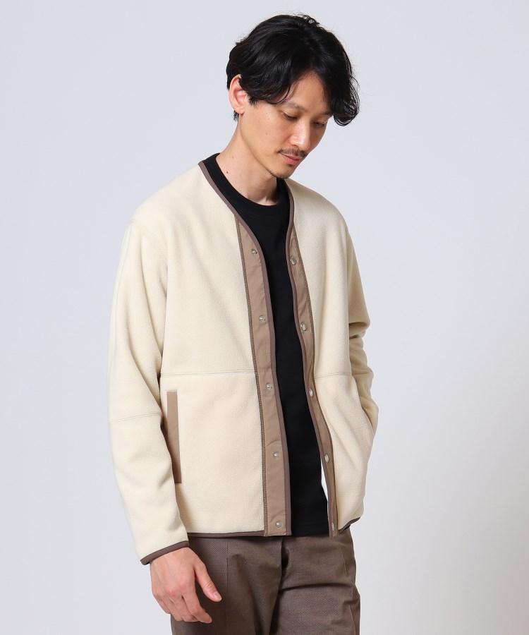 TAKEO KIKUCHI(タケオキクチ) ダブルフェイスフリースカーディガン