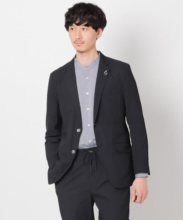 TAKEO KIKUCHI(タケオキクチ) 米沢織ストレッチチェックジャケット