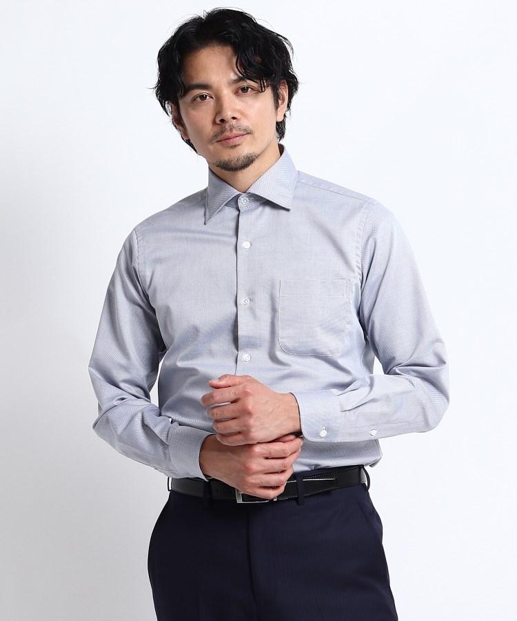 TAKEO KIKUCHI(タケオキクチ) 七宝紋柄シャツ