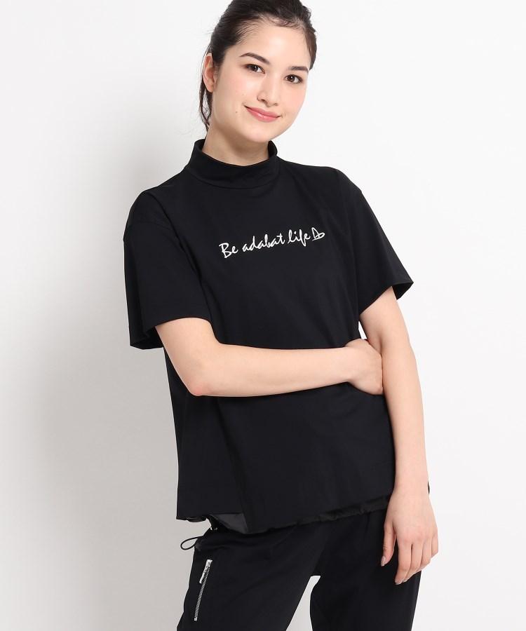 adabat(Ladies)(アダバット(レディース)) サステナブルジャージ素材 モックネックプルオーバー