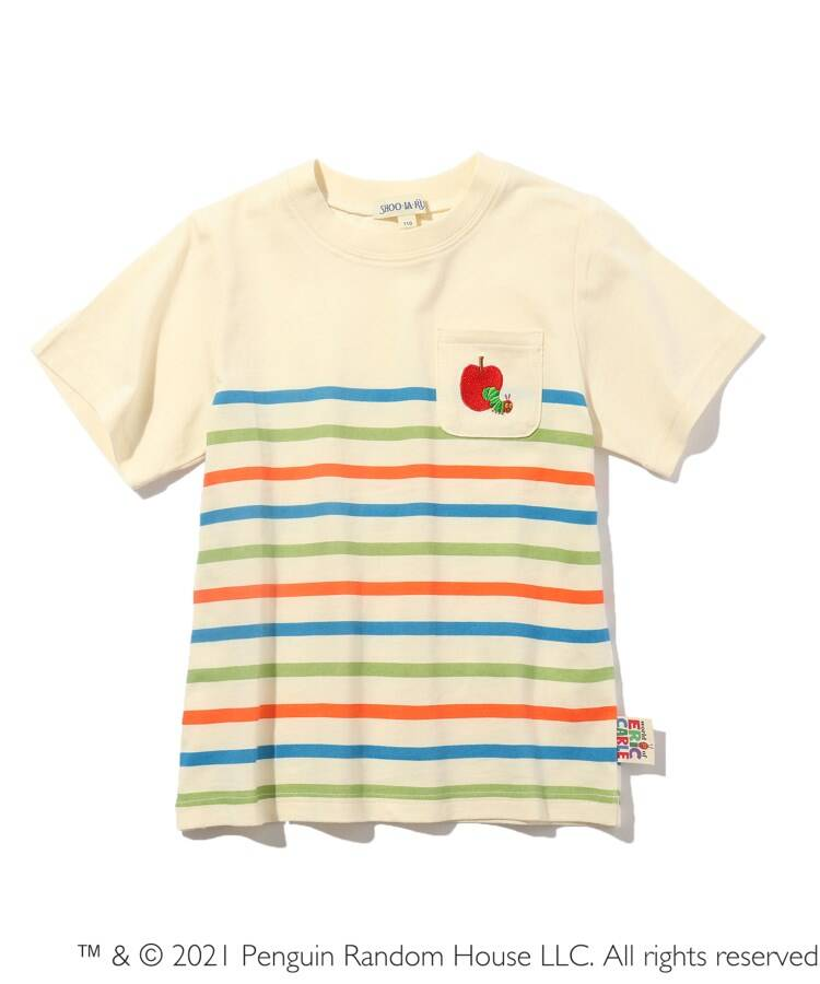 SHOO・LA・RUE/Kids(シューラルー /キッズ) 【はらぺこあおむし】ボーダーTシャツ