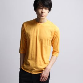 ベースコントロール(BASE CONTROL)のinner light raglan 3/4 t shirt Tシャツ