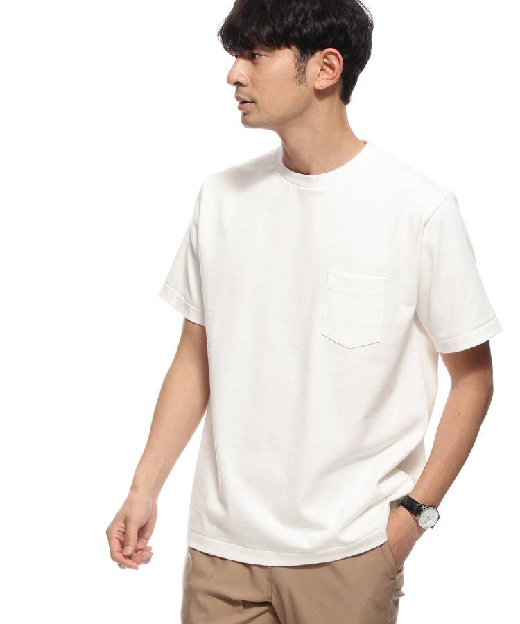 BASE CONTROL(ベースコントロール) 【WEB限定】MADE IN JAPAN /SUKENAI 白Tシャツ