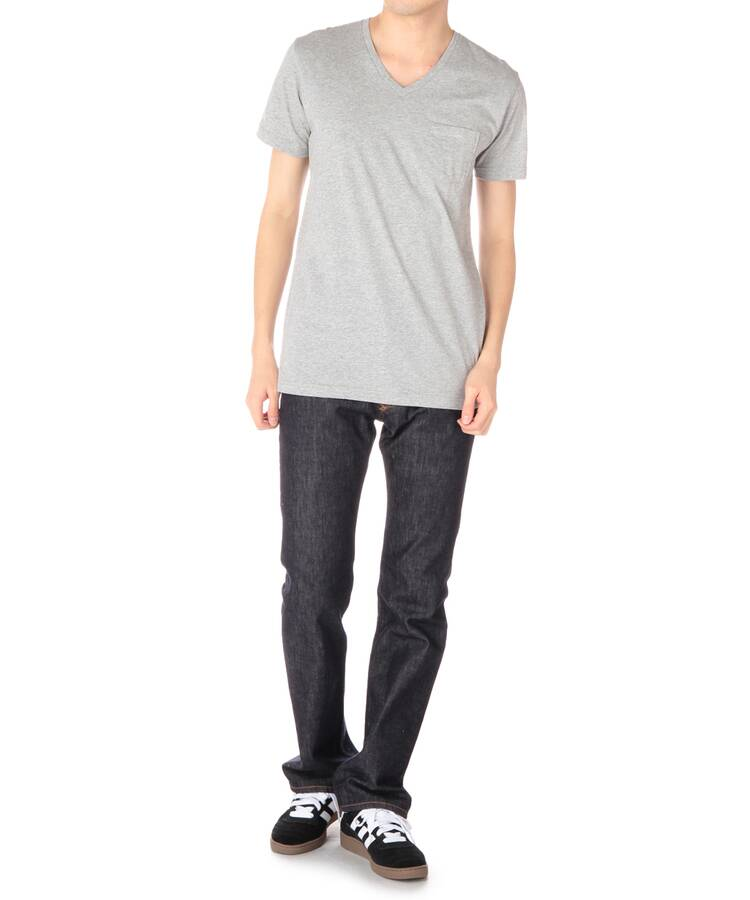 ベースコントロール(BASE CONTROL)のinner light v neck pocket tee10