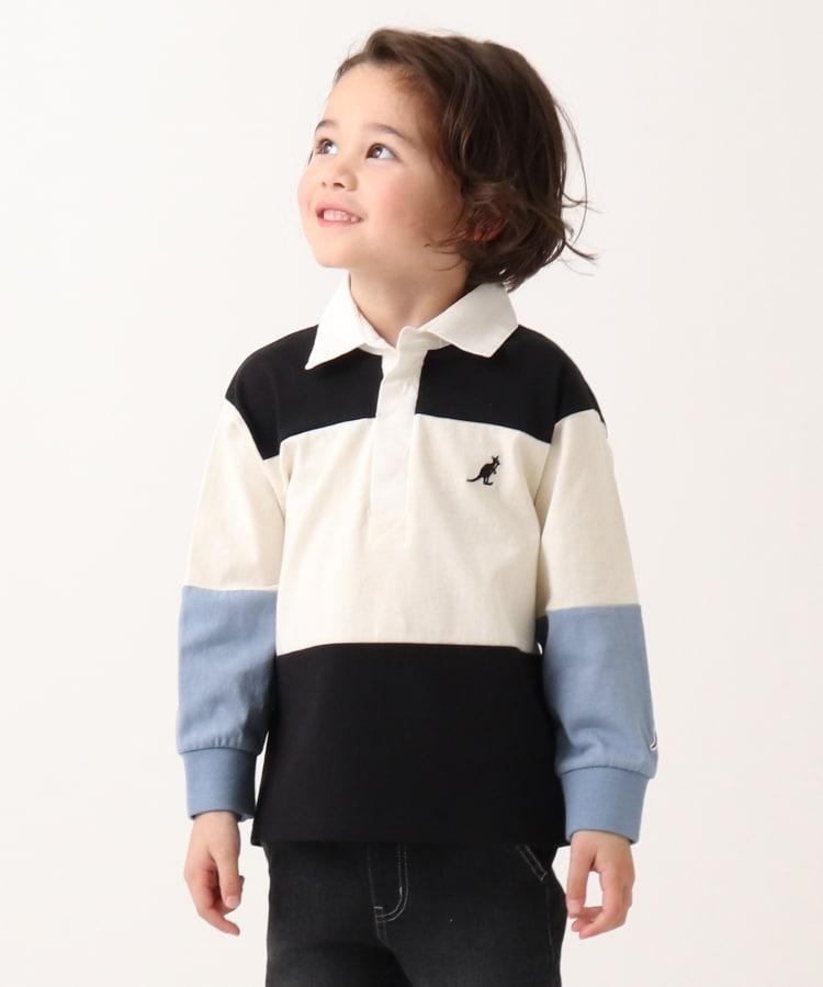 THE SHOP TK(Kids)(ザ ショップ ティーケー(キッズ)) 【WEB限定】KANGOL/カンゴール別注クレイジーパターンラガーシャツ