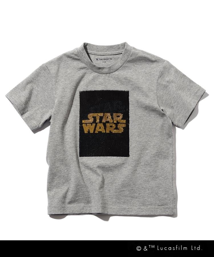 THE SHOP TK(Kids)(ザ ショップ ティーケー(キッズ)) STAR WARS/リバーシブルスパンコールTシャツ