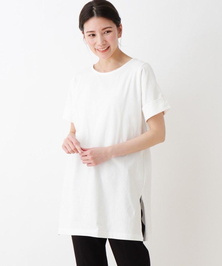 SHOO・LA・RUE/Mrs.(シューラルー/ミセス) AラインTシャツ