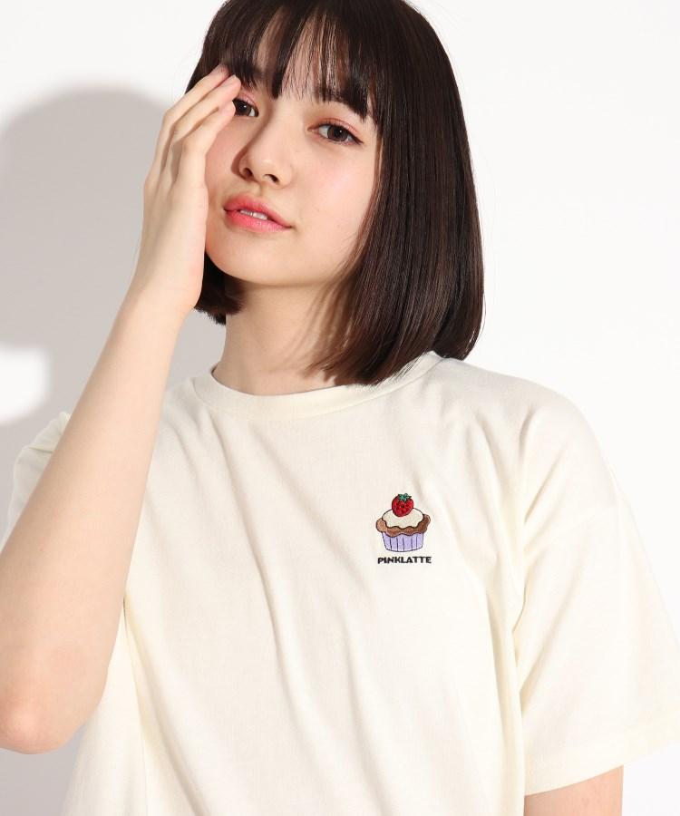 PINK-latte(ピンク ラテ) アメリカングラフィックTシャツ
