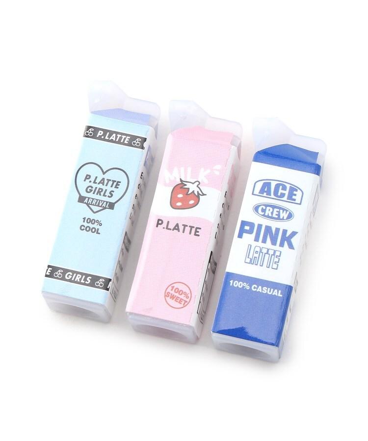 PINK-latte(ピンク ラテ) 牛乳パック鉛筆キャップ