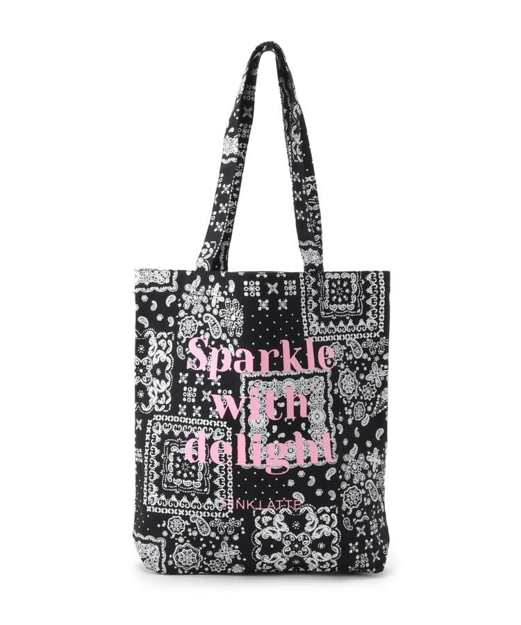 PINK-latte(ピンク ラテ) ★ニコラ掲載★トートバッグ