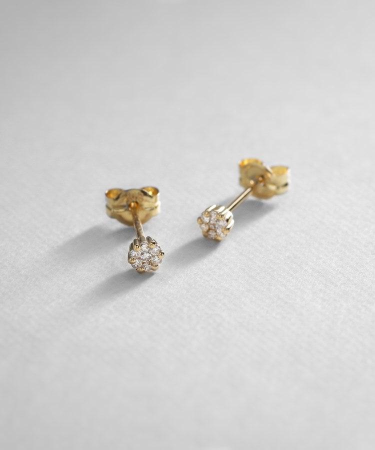 COCOSHNIK(ココシュニック) 2021リミテッドコレクション(K18) ダイヤモンド ピアス