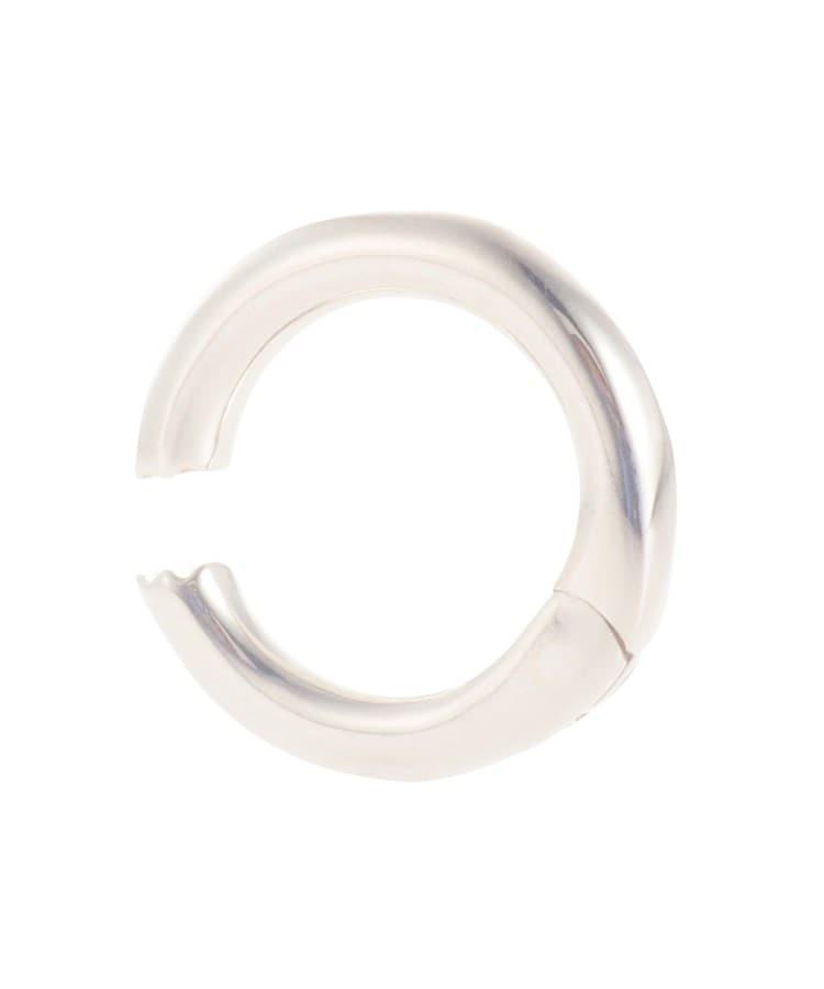 COCOSHNIK(ココシュニック) ラスティングシルバー 丸線中折れ イヤーカフ小(片耳用)