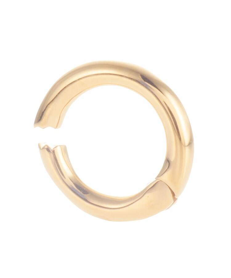 COCOSHNIK(ココシュニック) シルバー ゴールドプレーテッド 丸線中折れ イヤーカフ小(片耳用)