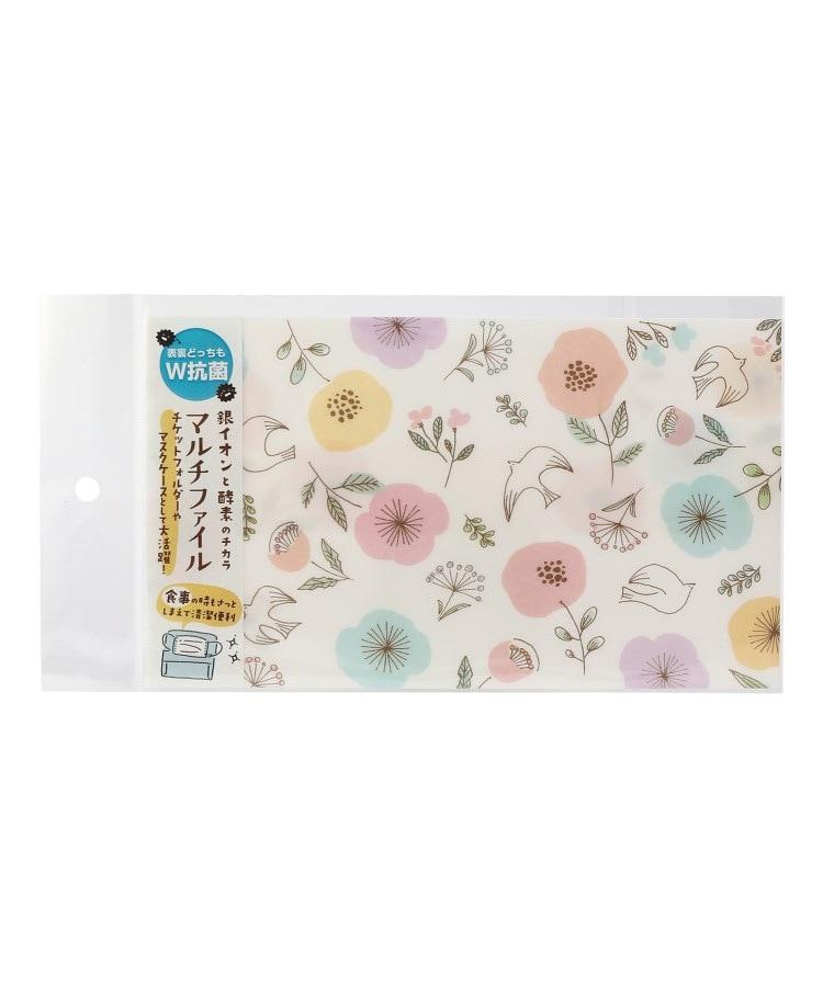 one'sterrace(ワンズテラス) 【抗菌】Wa-life マルチファイル 小鳥とお花