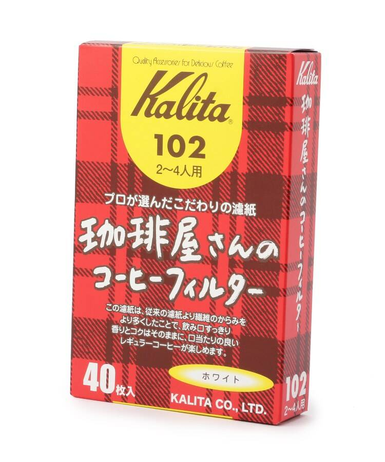 one'sterrace(ワンズテラス) Kalita 珈琲屋さんのコーヒーフィルター 102
