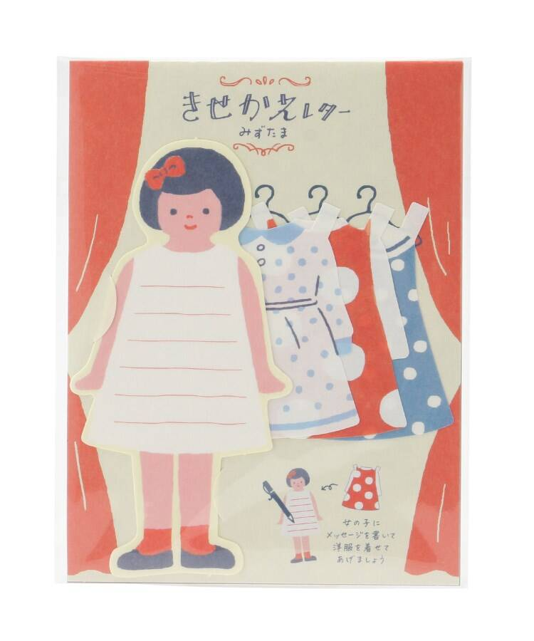 one'sterrace(ワンズテラス) Wa-life レトロきせかえミニレターセット
