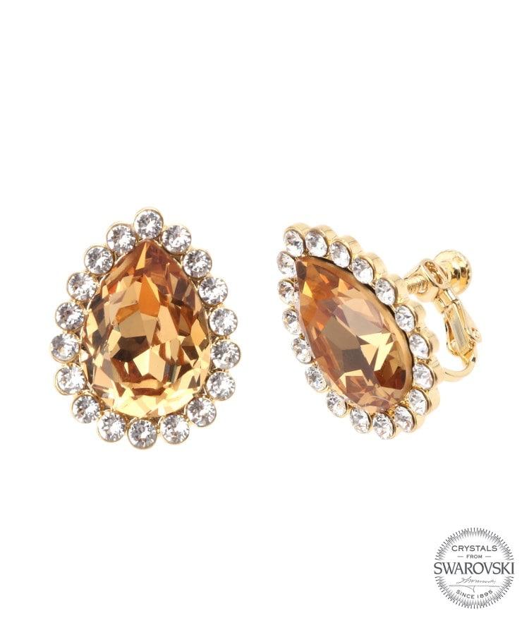 Couture Brooch(クチュールブローチ) クリスタルドロップイヤリング