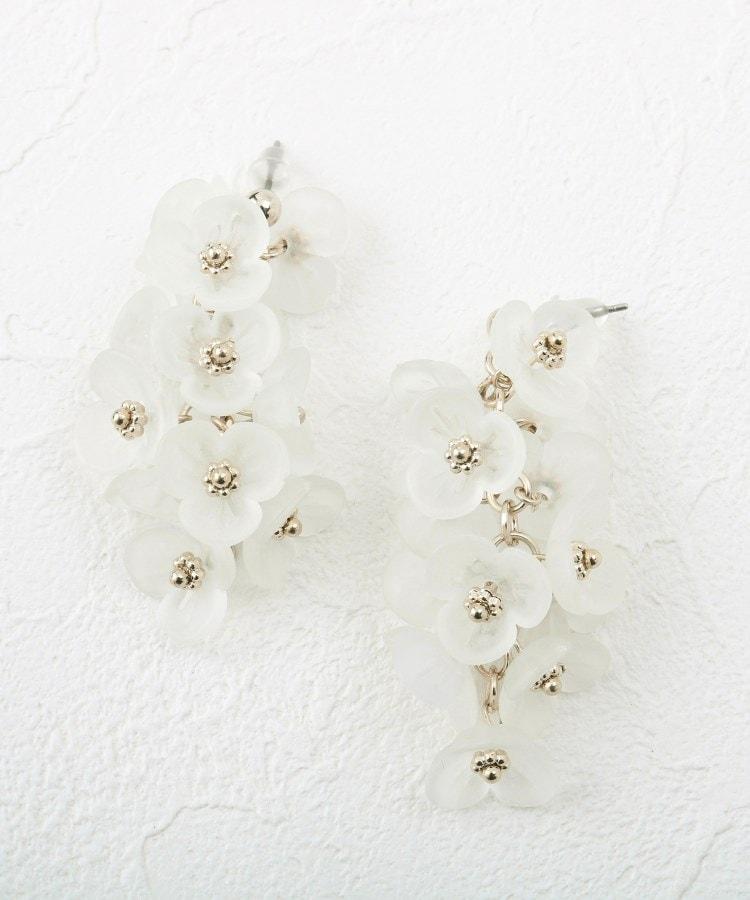 Couture Brooch(クチュールブローチ) メニーフラワーピアス