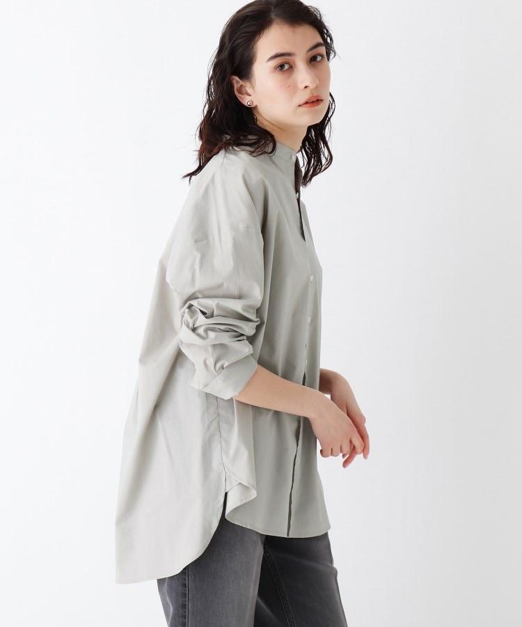 OPAQUE.CLIP(オペークドットクリップ) クリーンコットンダンプ BIGシャツ【UNISEX】