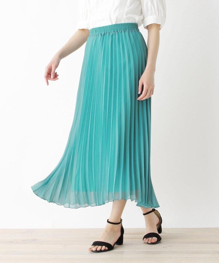 SHOO・LA・RUE/DRESKIP(シューラルー/ドレスキップ) 【M-LL】アコーディオンプリーツロングスカート