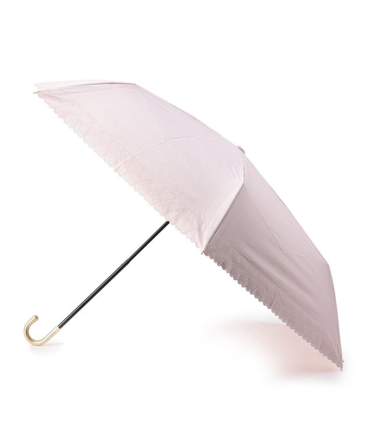 grove(グローブ) 遮光遮熱 ハートカット折り畳みパラソル