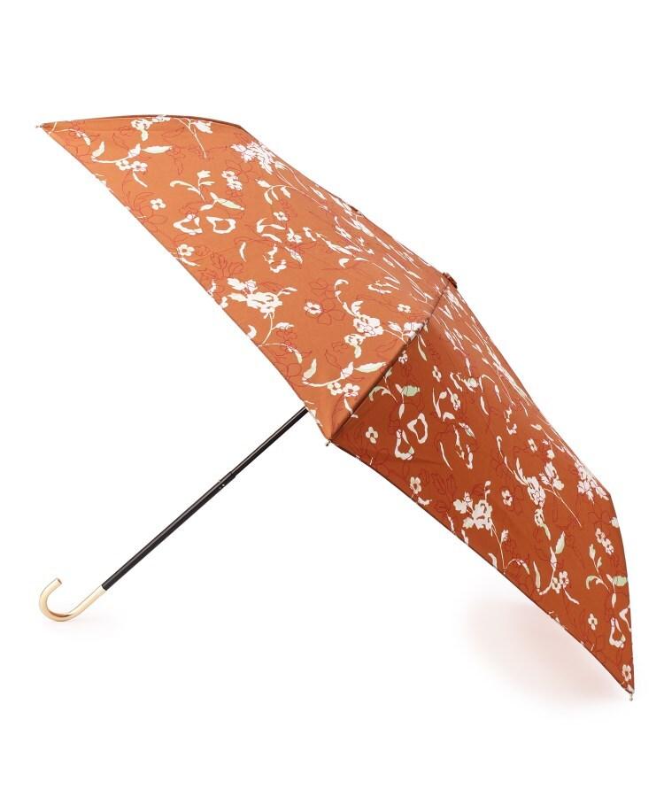 grove(グローブ) Wpc. 継続はっ水ラインフラワー折り畳み傘