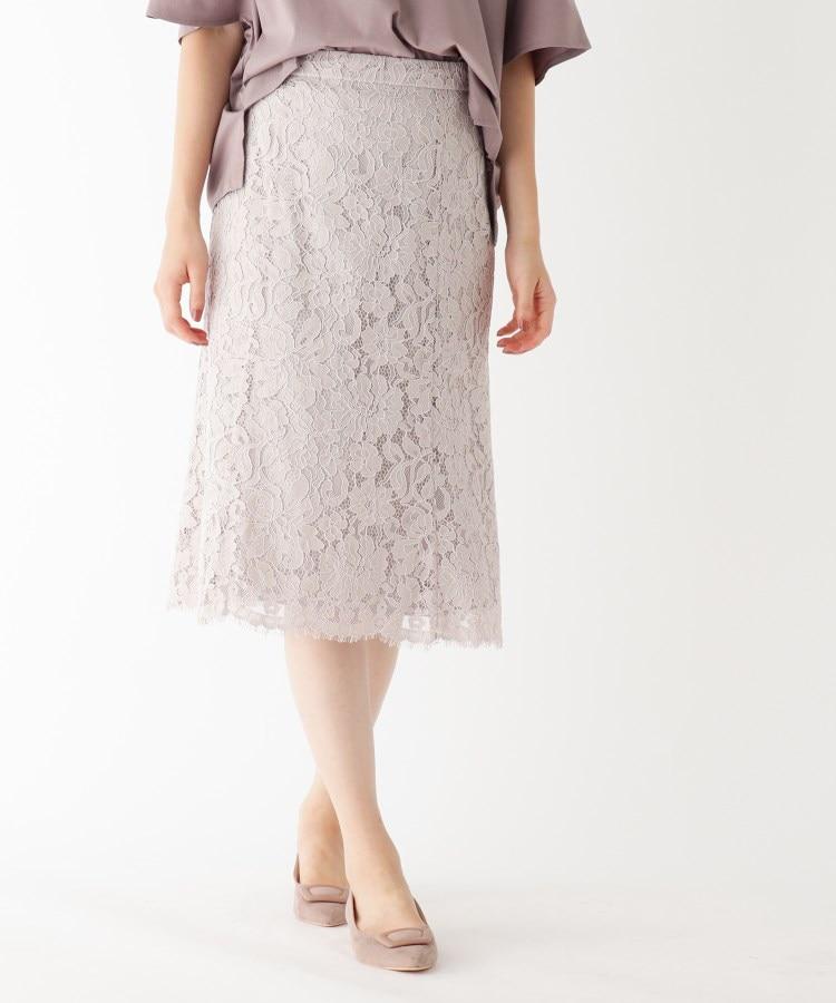 index(インデックス) 【 andGIRL10月号掲載】【WEB限定サイズ】レースマーメイドスカート