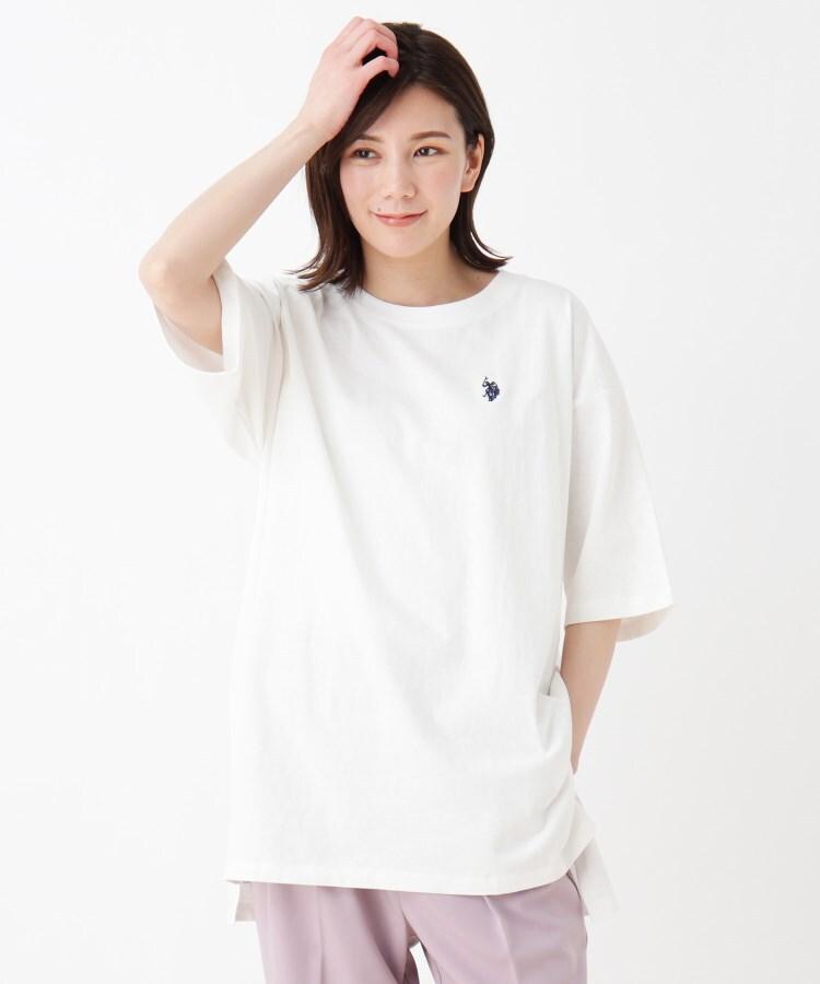 SHOO・LA・RUE(シューラルー) 【U.S. POLO ASSN.】ビックシルエットTシャツ