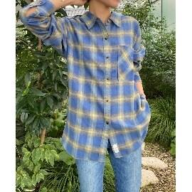ジェット(JET)の【ウォッシャブル】コットンユーズドライクチェックシャツ シャツ・ブラウス