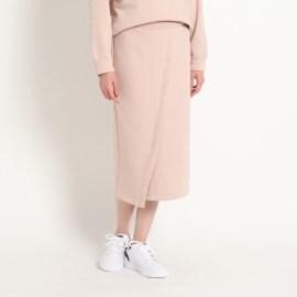 ジェット(JET)の【ウォッシャブル】フロントデザインスウェットスカート マキシ・ロングスカート