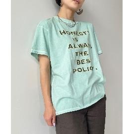 ジェット(JET)の【ウォッシャブル】ヴィンテージ風天竺ロゴTシャツ Tシャツ