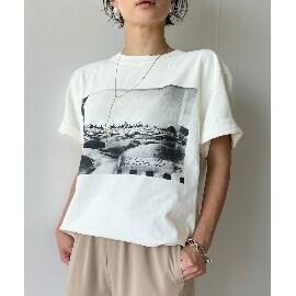 ジェット(JET)の【ウォッシャブル】フォトプリントビッグTシャツ Tシャツ