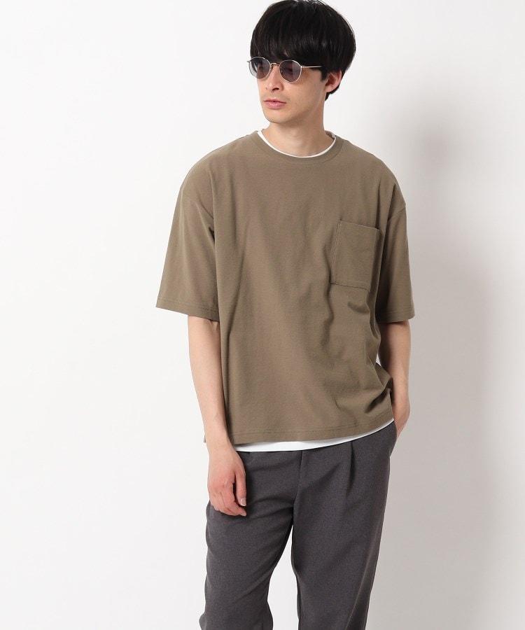 OPAQUE.CLIP MEN(オペークドットクリップ メン) レイヤードTシャツセット
