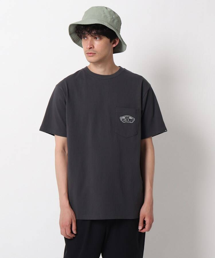 OPAQUE.CLIP MEN(オペークドットクリップ メン) VANS バッグロゴTシャツ