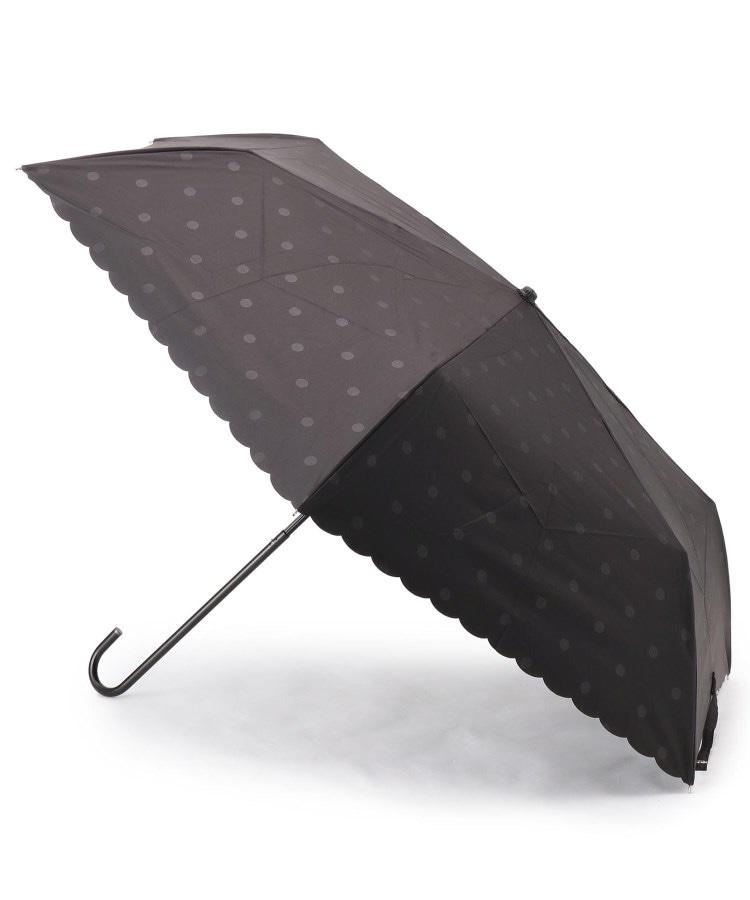 Dessin(Ladies)(デッサン(レディース)) because シャドードット柄晴雨兼用折り畳み傘