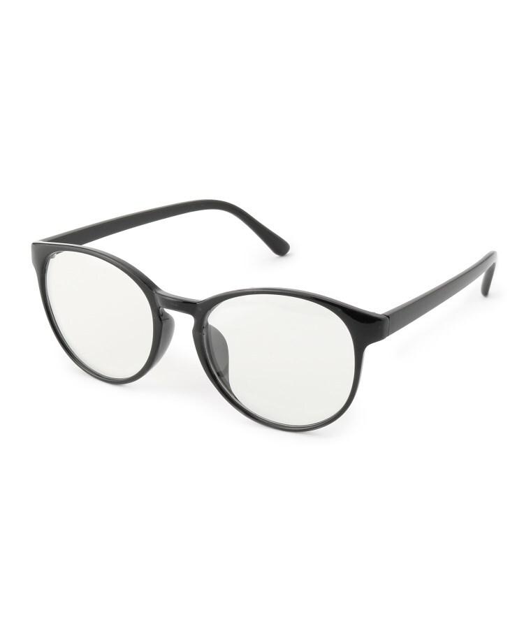 SHOO・LA・RUE/DRESKIP(シューラルー/ドレスキップ) 【ブルーライトカット/曇り止め加工】ウェリントン型伊達メガネ