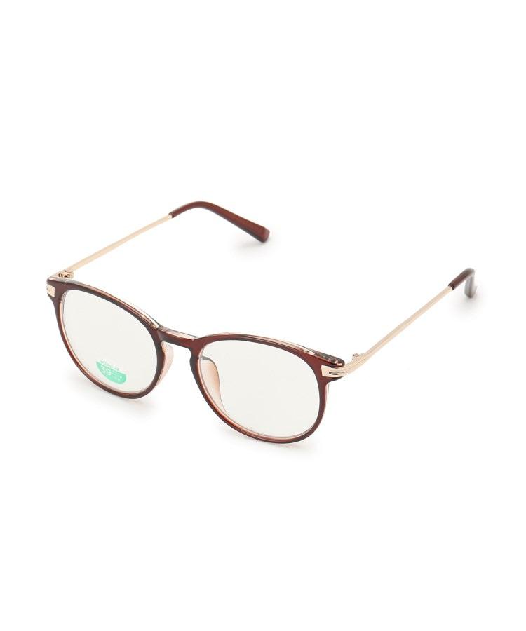 SHOO・LA・RUE/DRESKIP(シューラルー/ドレスキップ) 【ブルーライトカット】サイドメタルボストン型メガネ