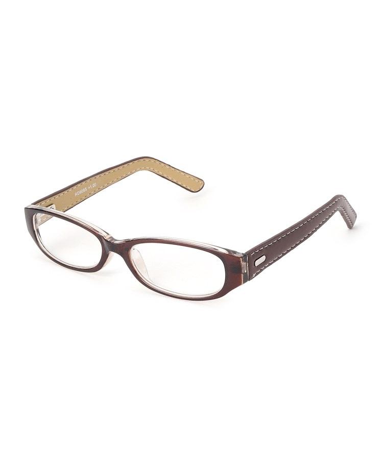 SHOO・LA・RUE/DRESKIP(シューラルー/ドレスキップ) 【老眼鏡】合皮巻きリーディンググラス