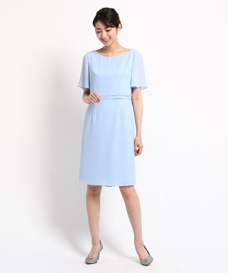 95f4c21c554df ワールド フォーマル セレクション(WORLD FORMAL SELECTION)のEMOTIONAL DRESSES ツーピース風ワンピース2