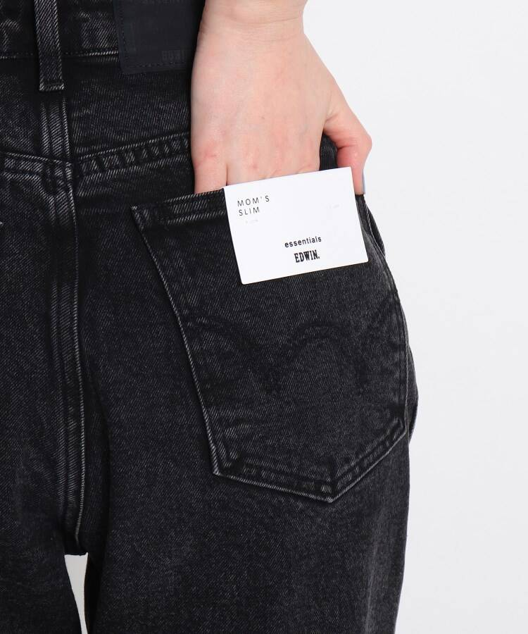 グローブ(grove)の【WEB限定】EDWIN MOMS DENIM5