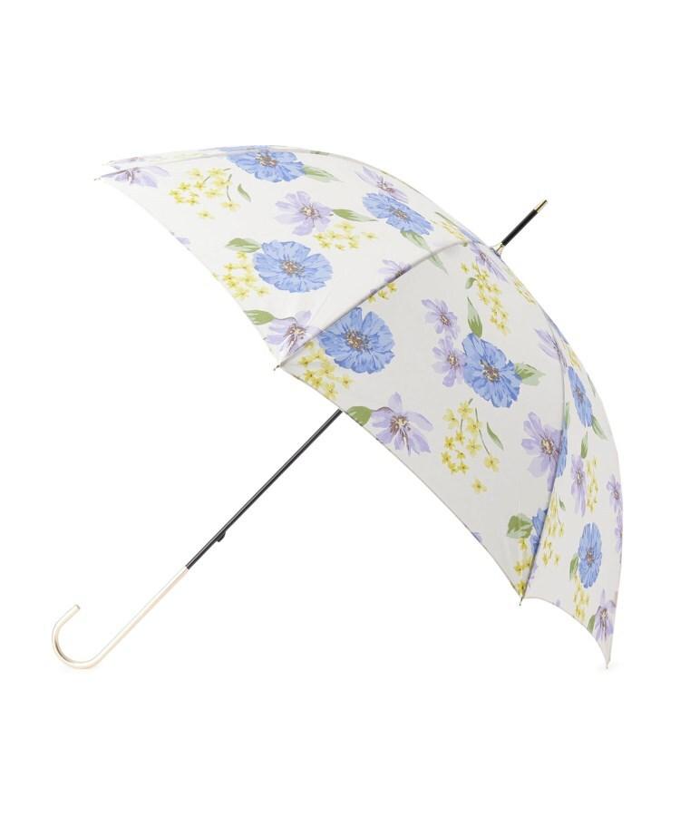 ITS' DEMO(イッツデモ) becauseフラワーアート柄晴雨兼用長傘