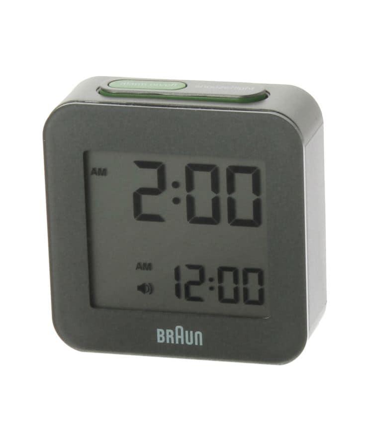 UNBUILT TAKEO KIKUCHI(アンビルト タケオキクチ) BRAUN BNC008 Grobal radio controlled digital alarm clock