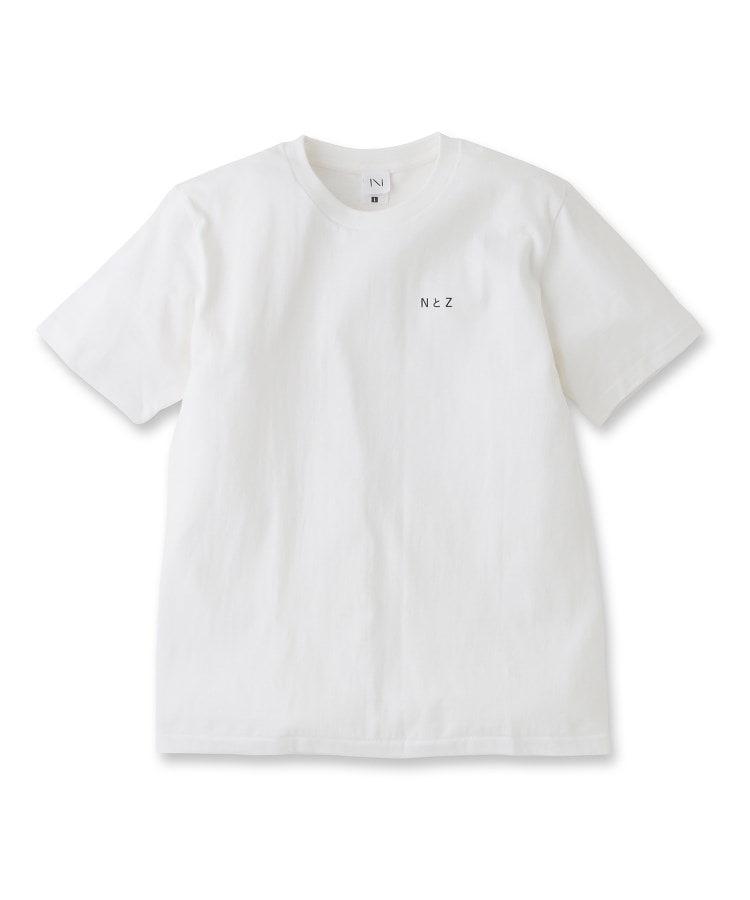 UNBUILT TAKEO KIKUCHI(アンビルト タケオキクチ) ◆Noritake デザインプリントTシャツ(NとZ)