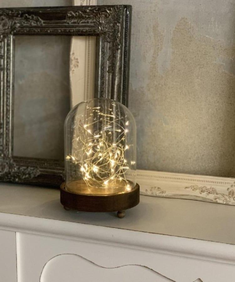 TIMELESS COMFORT(タイムレスコンフォート) LEDガラスドームライト 135H190