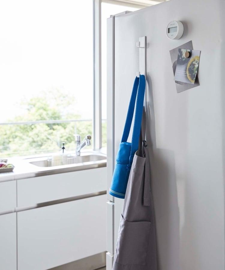 TIMELESS COMFORT(タイムレスコンフォート) PLATE (プレート) マグネット冷蔵庫サイド縦型3連フック ホワイト