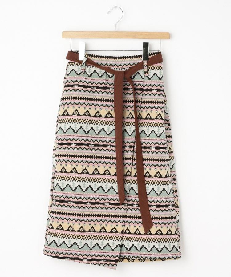 OFF PRICE STORE(Women)(オフプライスストア(ウィメン)) Clear ノルディック柄巻き風スカート