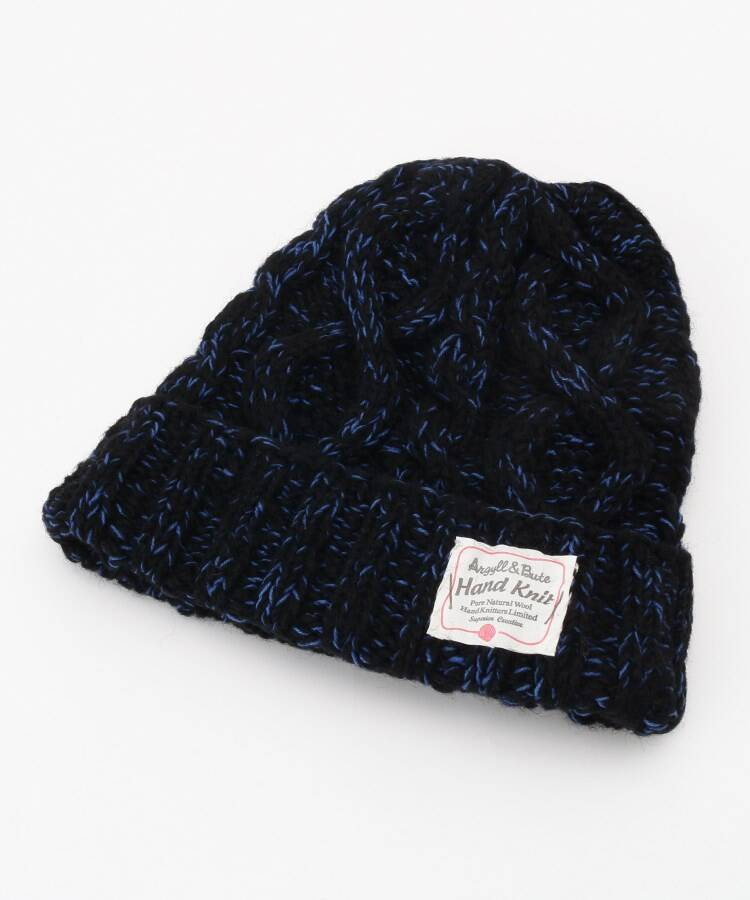 OFF PRICE STORE(Fashion Goods)(オフプライスストア(ファッショングッズ)) ARGYLL AND BUTE WOOL-COTTON MIX WATCH CAP