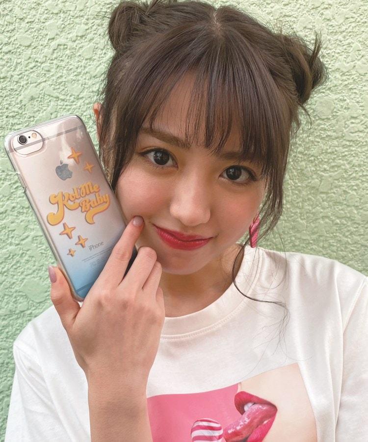 KOL ME BABY(コルミーベイビー) Shiny クリアスマホケース(iPhone8/7/6s/6/SE第2世代対応)