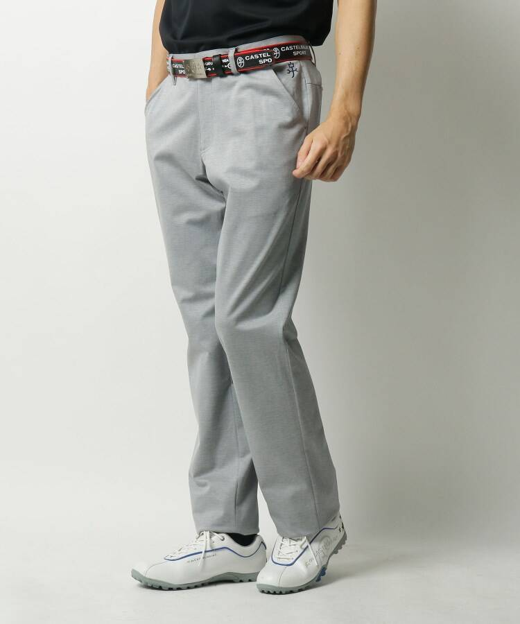 CASTELBAJAC(Men)(カステルバジャック(メンズ)) コンパクトガルゼ刺繍パンツ