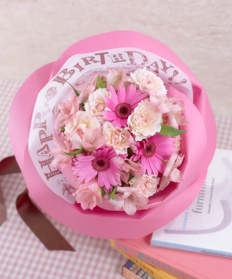 日比谷花壇(ヒビヤカダン) バラの形の花束ペタロ・ローザ「ハッピーバースデー」